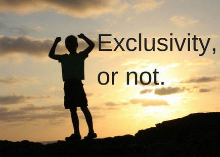 How To Say No To Exclusivity